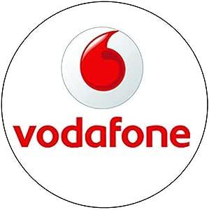 Teléfono Network Pegatinas - Vodafone, Pack de - 100: Amazon.es: Oficina y papelería