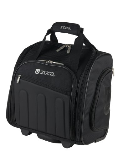 Zuca Skipper - Compact Wheeled Suitcase w Telescoping Handle, Laptop Compartment by ZUCA