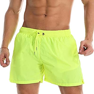 Lumanuby. Bañador Hombre Pantalones Corto Deporte Bermudas Secado ...