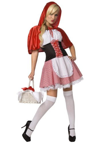 Sexy Red Riding Hood Costume - S -