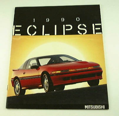 Amazon.com : 1990 90 Mitsubishi ECLIPSE BROCHURE GS Turbo DOHC : Other Products : Everything Else