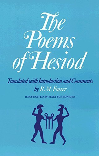 The Poems of Hesiod by Frazer, R. M., Hesiod (1983) Paperback