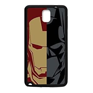 RHGGB Batman and Iron Man Cell Phone Case for Samsung Galaxy Note3