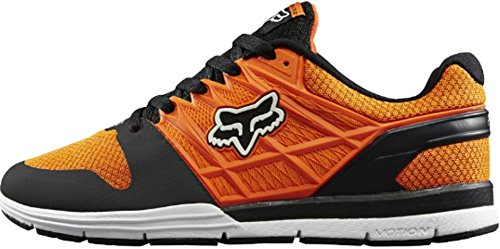 Fox Racing Mens Motion Elite 2 Shoes Footwear 7.5 Orange/Black