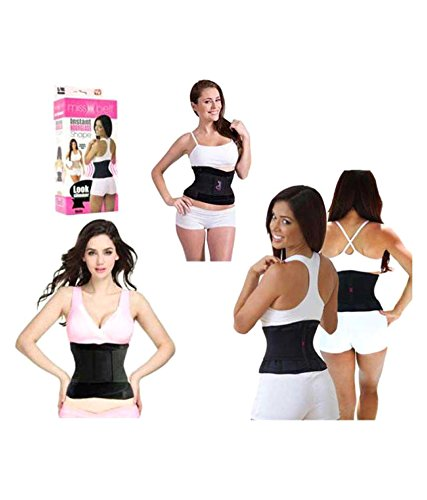 546f6a96b987d Benison India MissBelt Trainer Belt Slim Waist Shapewear Women Tummy Tuck  Belt Hourglass Waist Slim Strap Modeling Girdle Waist Trainer (S-M)   Amazon.in  ...