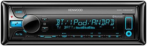 Kenwood KDC-X5000BT Autoradio USB/CD-Receiver mit Bluetooth und A2DP, Apple iPod-Steuerung schwarz