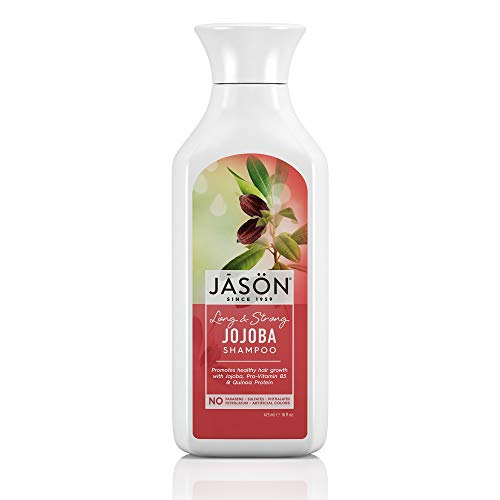 (JASON Long and Strong Jojoba Shampoo, 16 Ounce Bottle)