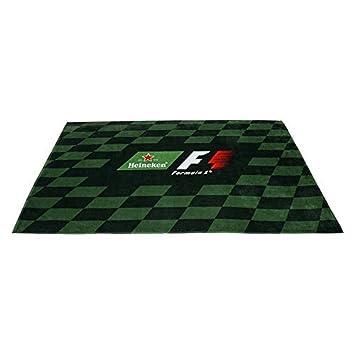 Heineken Toalla De Playa Fórmula 1 (F1) - Verde Oscuro y Negro: Amazon.es: Hogar