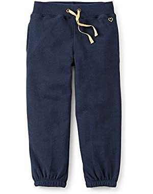 Baby Girls' French Terry Pants