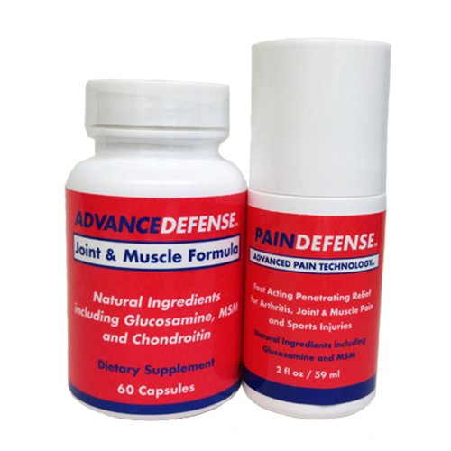 Pain Defense | America's #1 Joint Pain Relief | Powerful Joint Pain Relief for Arthritis, Gout, Tennis Elbow, Carpal Tunnel Syndrome, Bursitis, Tendonitis, Plantar Fasciitis, Fibromyalgia, Shin Splints, Neuropathy, Etc. | Stop Joint Pain Today!