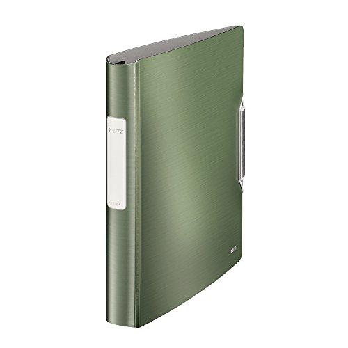 Leitz SoftClick Active Style - Carpeta de anillas, color verde celadón