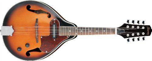 Ibanez M510E A-STYLE Acoustic-Electric Mandolin (BROWN SUNBURST) M510EBS