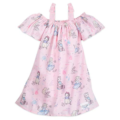 Disney Animators' Collection Sun Dress for Girls Size 9/10 Pink