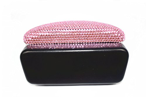 Fashion Pink Bling Crystal Travel Glasses Case Cute Rhinestone Gift Eyeglasses Box by Bling Dynasty (Image #5)