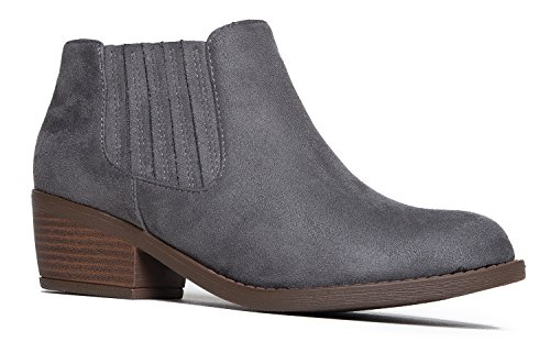 J. Adams Casual Western Ankle Bootie dRqZAg