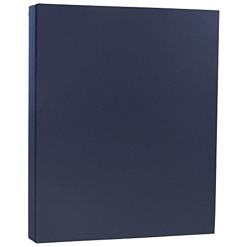 Blue 50 Sheet Pack - JAM Paper Matte Paper - 8.5