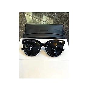 New Gentle man Women Monster eyeware V brand ILLUSION 01 sunglasses for gental Monster sunglasses -black frame black lensess