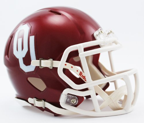 Oklahoma Sooners Helmet Mini (Riddell NCAA Oklahoma Sooners Speed Mini Helmet)