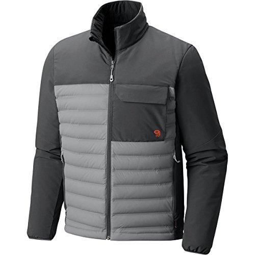 Mountain Hardwear StretchDown HD Jacket - Men's Manta Grey/Shark Large