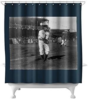 Amazon Roger Bresnahan NY Giants Baseball Photo 71x74 Polyester Shower Curtain Home Kitchen