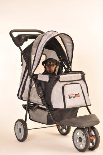 InnoPet Hundebuggy Hundewagen schwarz Pet Stroller