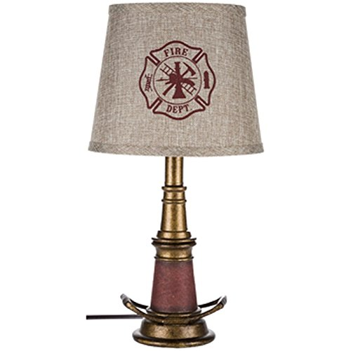 Shelby's Home Decor FIRE Hose LAMP Night Table lamp