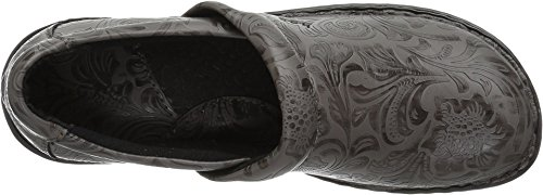 B.O.C. Women's Peggy Peggy Grey Tooled Pu 9.5 M US by B.O.C. (Image #1)