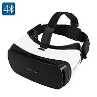 Bw–Lunettes 3d de réalité virtuelle pour 3,5à 14cm, smartphones, 110Champ de vision, Bluetooth, bandeau