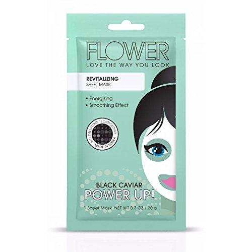 Flower Revitalizing Power Up Sheet Mask, 0.7 oz (Pack of 2)