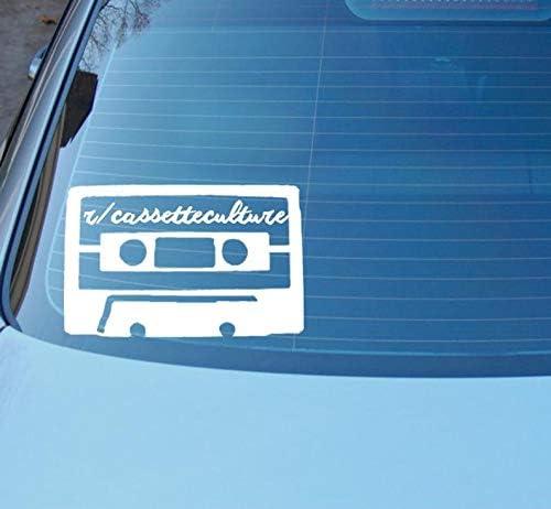 CLIFFBENNETT r/cassetteculture sub Reddit car or Laptop Vinyl Decal