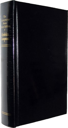 The Anonymous Press Study Edition of Alcoholics Anonymous (Black)