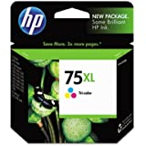 Genuine HP CB338WN / 75XL Tri-Color OEM Ink Cartridge