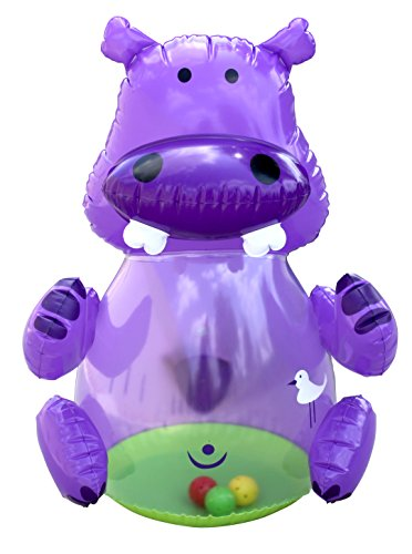 Hedstrom Jingly Hippo Inflatable Bopper