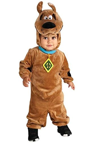 [8eighteen Scooby-Doo Deluxe Scooby-Doo Infant Halloween Costume] (Scoobydoo Adult Plus Costumes)