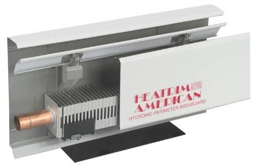 Sterling Heatrim Baseboard R-750-A3 Hydronic Baseboard Heater 3 Ft (Baseboard Hydronic Fin Tube)