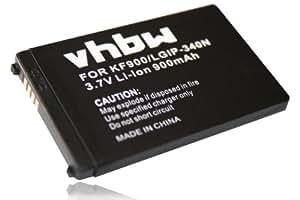 BATERÍA LI-ION compatible con LG KS660, GR500 Banter, LX265 Rumor 2, AX265 BAnter, UX265 Rumor 2, UX840 sustituye LGIP-340N