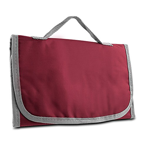 Mens Toiletry Kit, Logic Hanging Trifold Organizer Toiletry Travel Kit, Bordeaux by By-Travelon