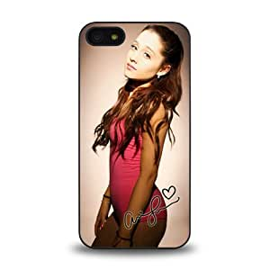 iPhone 5 5S case protective skin cover with Pop Star Ariana Grande gorgeous design #23 by runtopwell