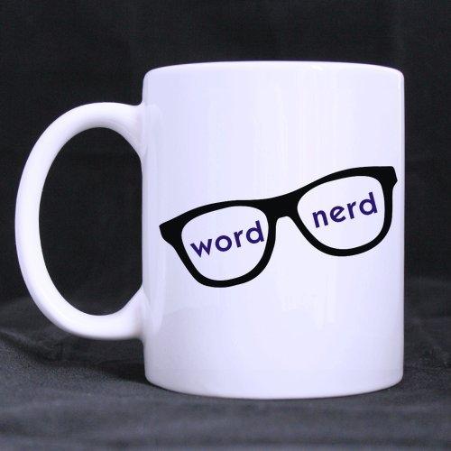 Word-Nerd-Ceramic-Coffee-Tea-Mug-White-Mug-11-ounces