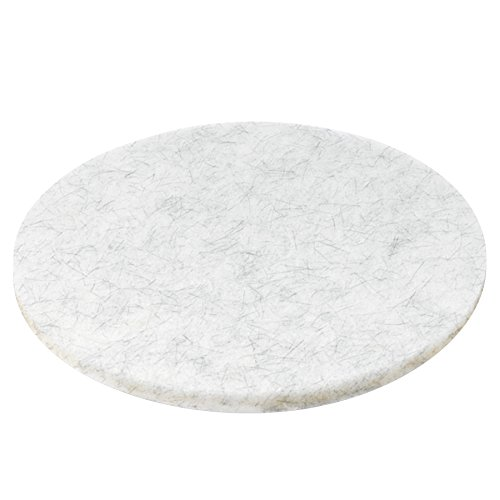 Boardwalk 4020NAT Ultra High-Speed Floor Pads, Natural Hair/Polyester, 20'' Diameter (Case of 5) by Premiere Pads