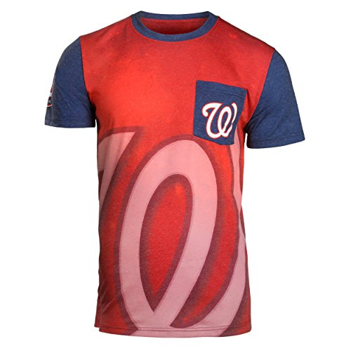 - Washington Nationals 2016 Cotton/Poly Pocket Tee Extra Large