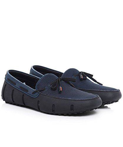 Swims Noir Driver Loafer Lace marine Z0wwTqUHP