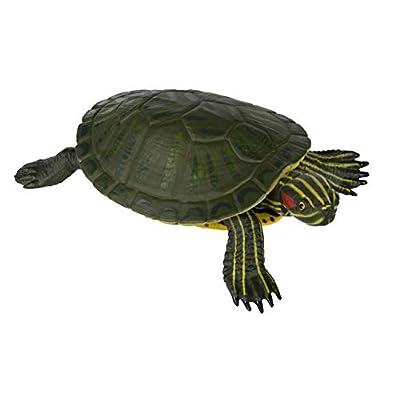 Safari Ltd  Incredible Creatures Red-Eared Slider Turtle: Toys & Games