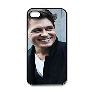 iPhone 4 4s Black Cell Phone Case HUBYLW3519 Mark Owen Phone Case Cover Custom Personalized