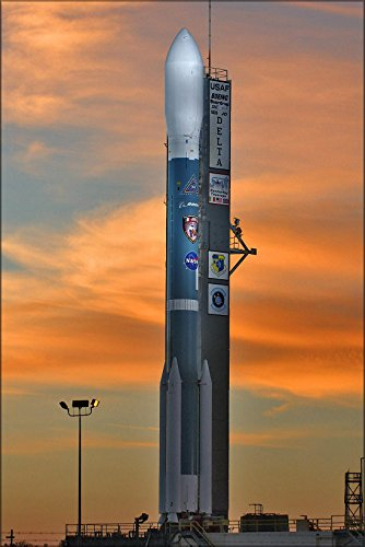 24x36 Poster . Boeing Delta Ii Rocket For Nasa'S Swift Spacecraft ()