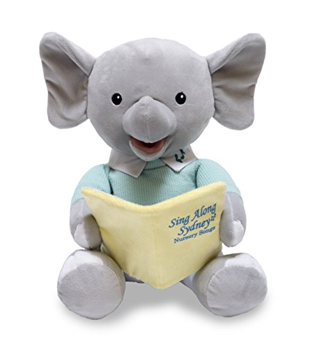Cuddle Barn Sing Along Sydney,Gray,12 Inches ()