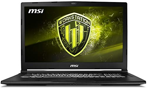 MSI WE63 8SJ-280 Xeon 15.6 inch SSD Quadro Black