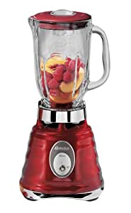 Osterizer 4126 Contemporary Classic Beehive Blender, Red