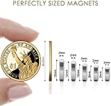DIYMAG Magnets 60Pcs, 5 Different Size Small