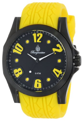 Burgmeister Men's BM606-620A Black Spirit Analog Watch